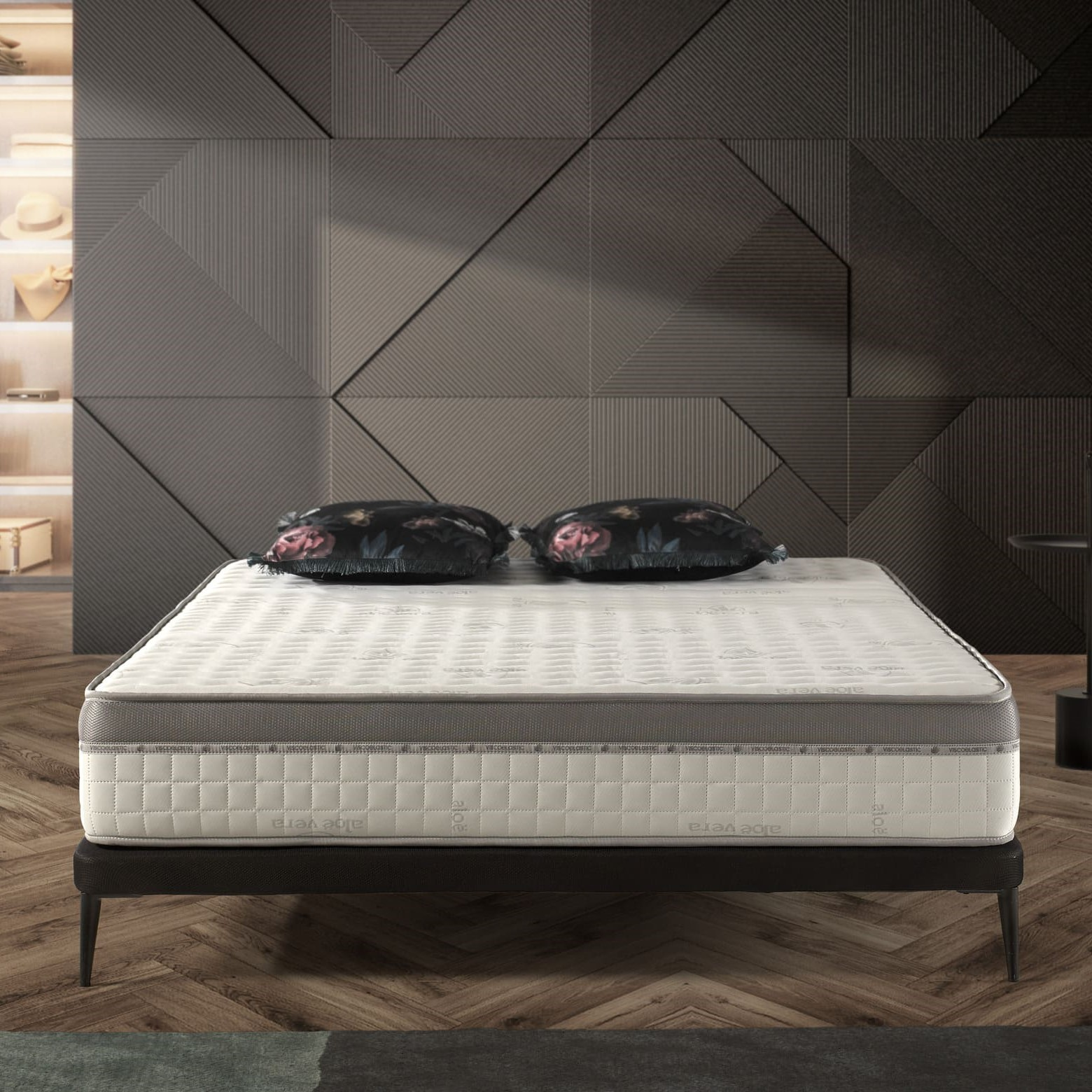 naturalex matelas extra visco. Black Bedroom Furniture Sets. Home Design Ideas